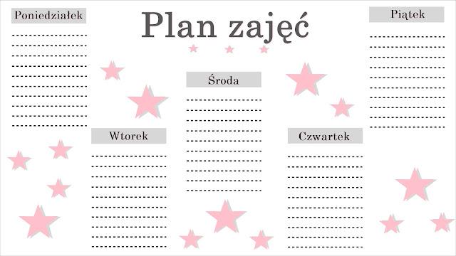 Plan zajęć