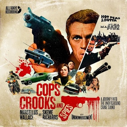Marsellus Wallace and Skeme Richards - Cops Crooks And Spies | Retro-Soundtrack-Mixtape ( Stream und Free Download )
