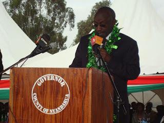 Nyandarua governor Waithaka Mwangi dismisses 2 million Christmas tree allegations. PHOTO   BANA