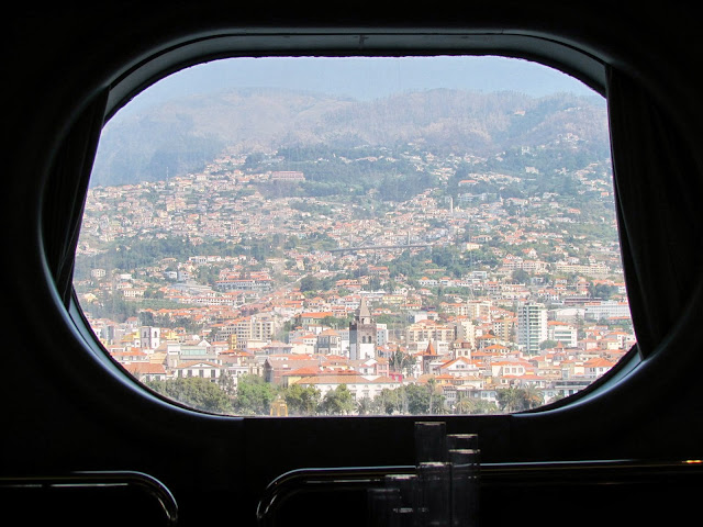 Funchal view from board Ocean Dream (Peace Boat)