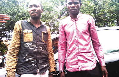 Agents of the Abia State Police Command have captured a minister, Onyenweaku Chibunnam, for purportedly taking a Toyota Camry in Ebem Ohafia people group, of the Ohafia Local Government Area of the state.