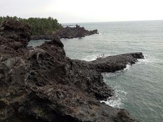 Bercuti ke Korea : Jusangjeolli Cliff
