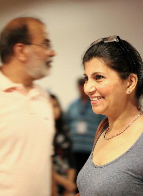 Rubina Ashraf smiling face
