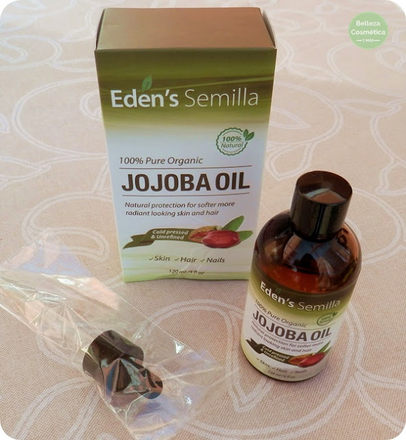 aceite de jojoba de Eden's Semilla