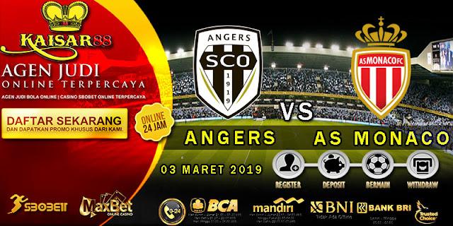 PREDIKSI BOLA TERPERCAYA ANGERS VS AS MONACO 03 MARET 2019