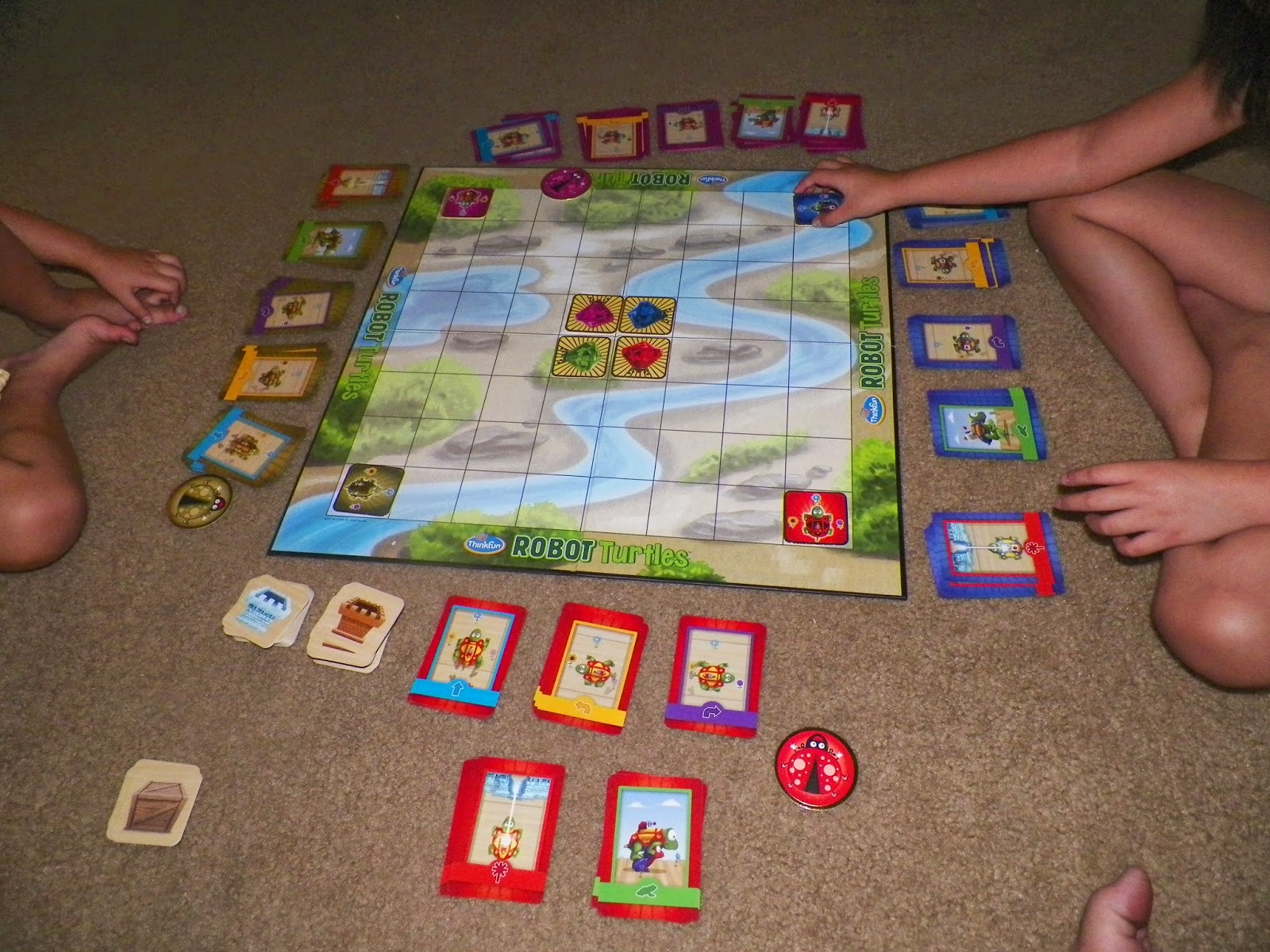 mygreatfinds: Robot Turtles Board Game Review
