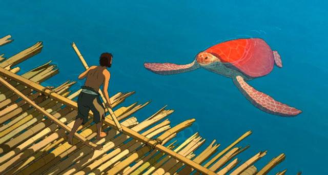 A animação abandona qualquer semelhança com outras obras de náufragos – Reprodução