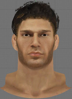 NBA 2K13 Brook Lopez Cyberface Patch