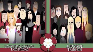 La guerra de las dos rosas