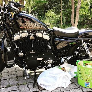 RAJA MOGE BEKAS : Dijual Moge Harley Sportster 48 - SURABAYA