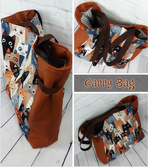 Shoppertasche CarryBag by Farbenmix, Taschenspieler 4