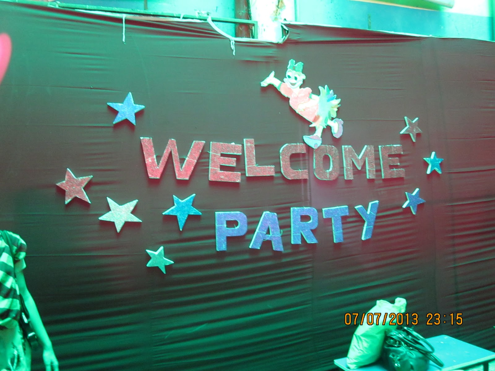 Gowtham Model School Kishanbagh: Welcome Party