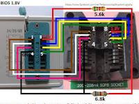 Tips dan Trick cara membuat converter 3.3v to 1.8V IC proggramer