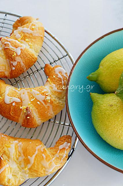 Lemon-Cream Cheese Crescent Rolls