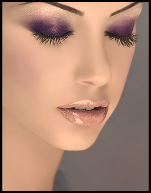Purple Eyeshadow Tutorial: Style Notebook: Friday Faces: Purple Eye Look With Major