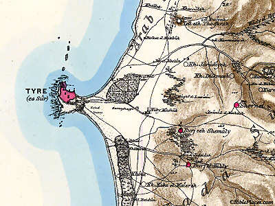 Picture of the Week: The (Former) Island of Tyre - BiblePlaces Blog