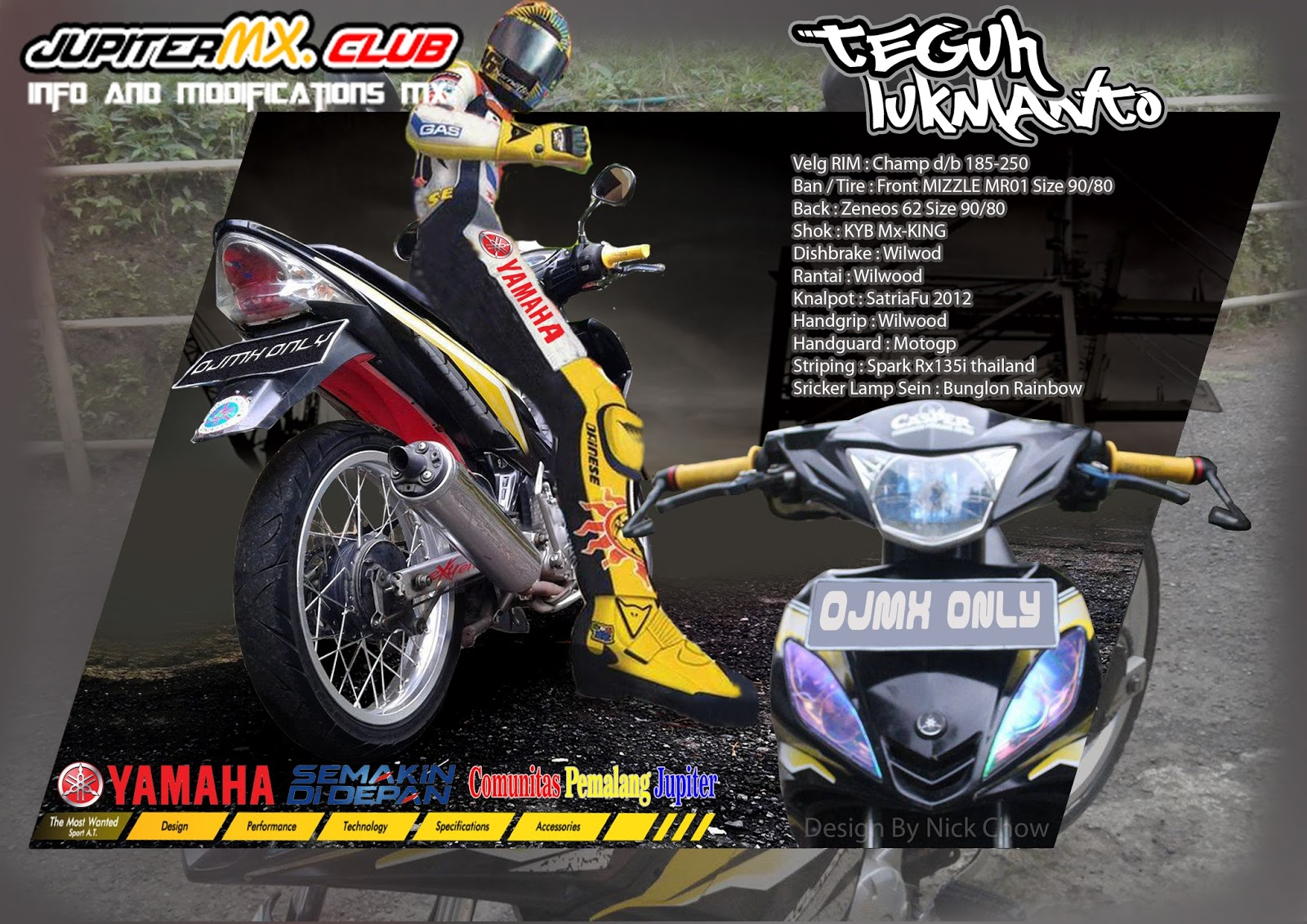 100 Gambar Motor Modifikasi Jupiter Mx King Terbaru Gubuk Sonic 150r Energetic Red Pemalang Old Ojmx 2017 Community