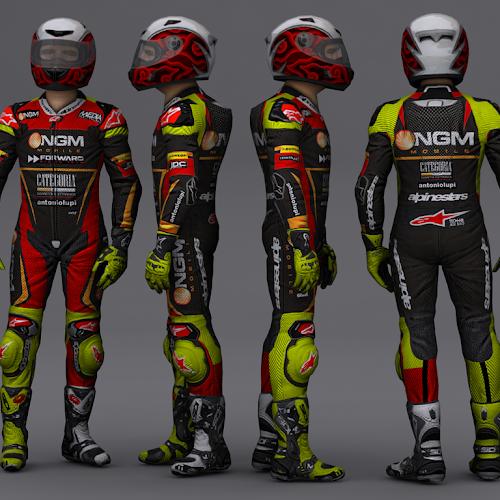 Mod Suit MotoGP13 VR46 Style