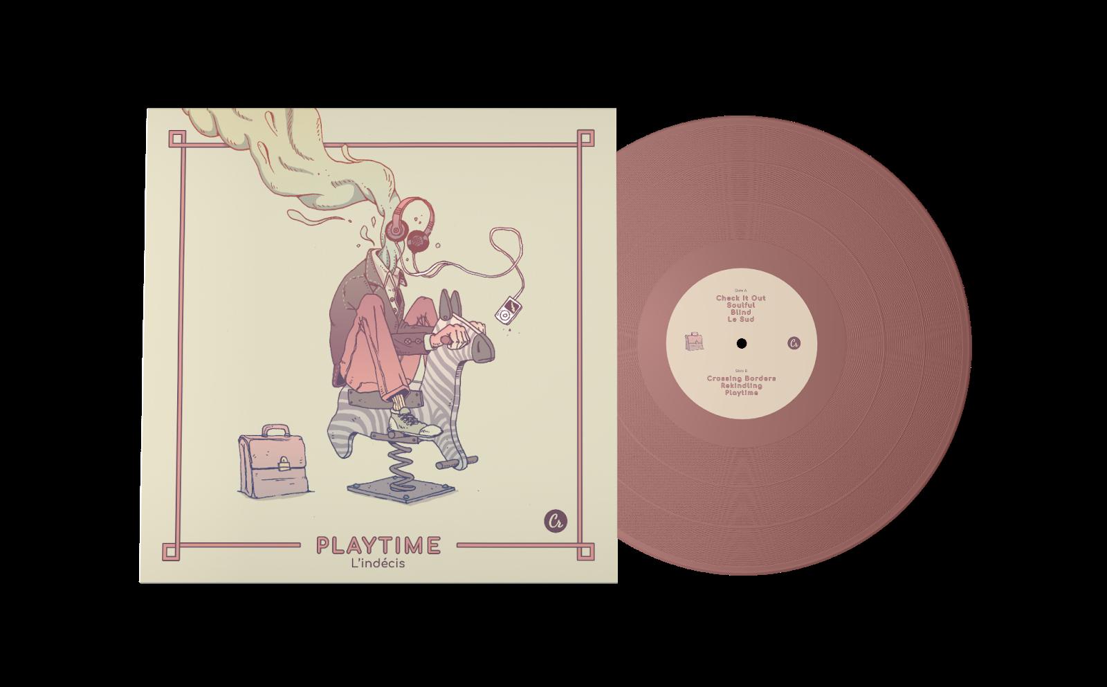 Playtime von L'indécis | Eine musikalische Reise, ein modernes Jazz-Fusion Musical | Full Album Stream und Vinyl Tipp