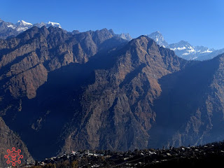 View from Auli Ropeway