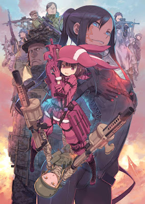 Sword Art Online Alternative: Gun Gale Online Tayang April 2018