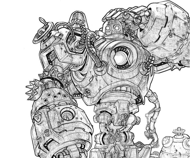 league of legends rumble coloring pages | League of Legends Blitzcrank | Yumiko Fujiwara