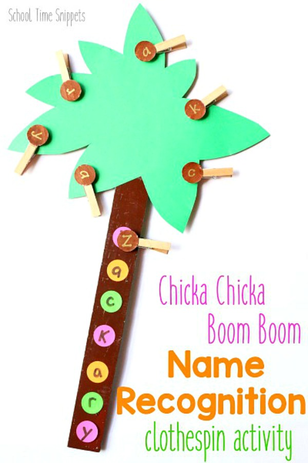 preschool name tree