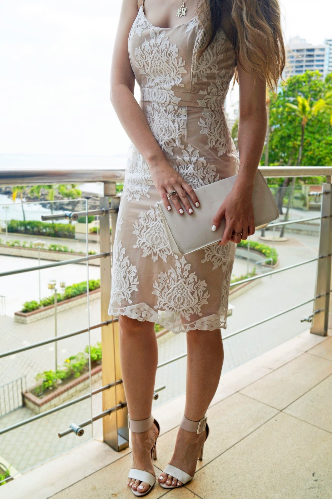 White Lace Dress from Forever21