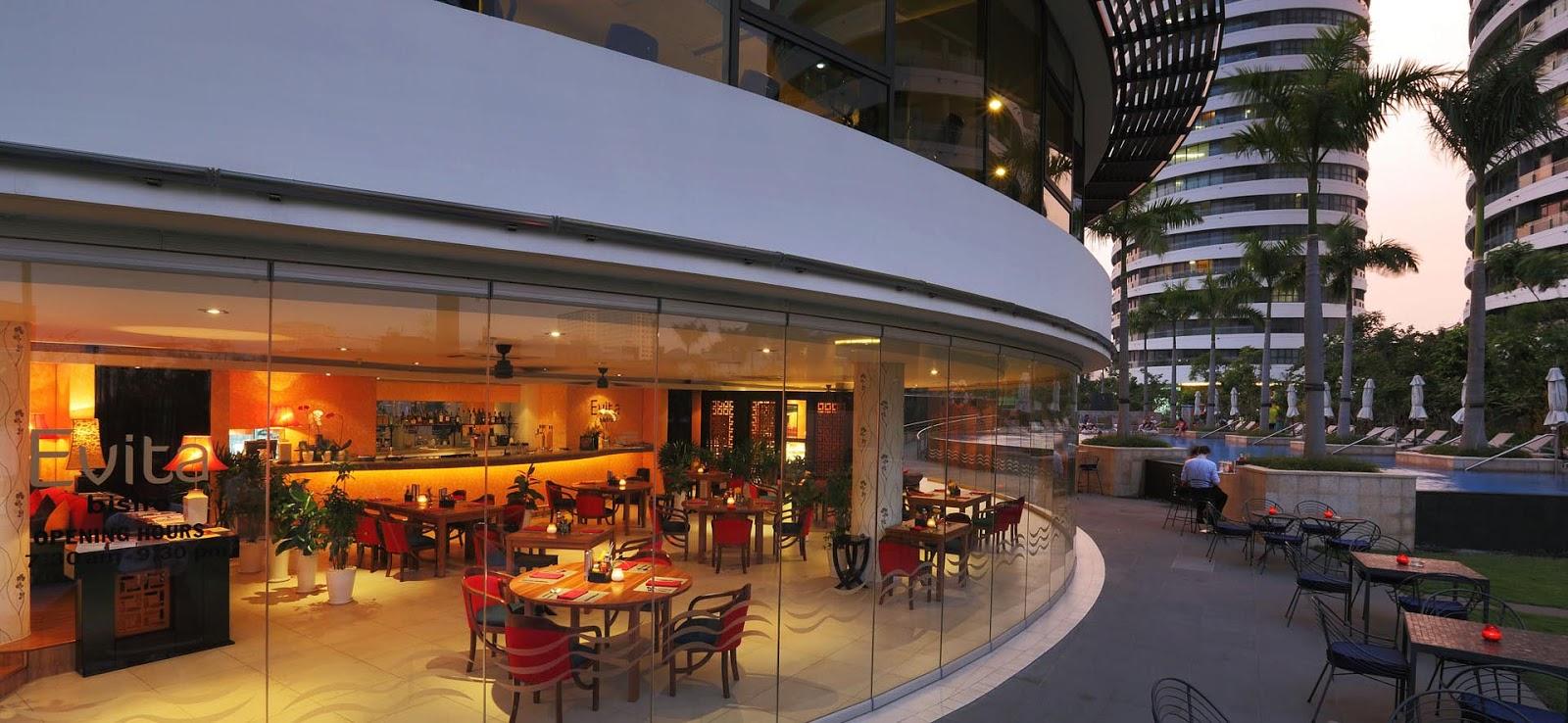 Nhà hàng Evita tại căn hộ City Garden