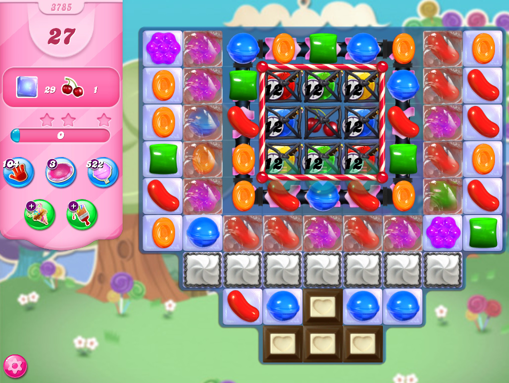 Candy Crush Saga level 3785