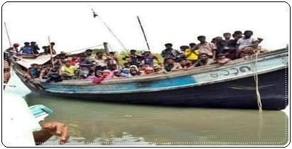 79 Orang Warga Rohingya Terdampar Di Kuala Raja, Bireuen Aceh