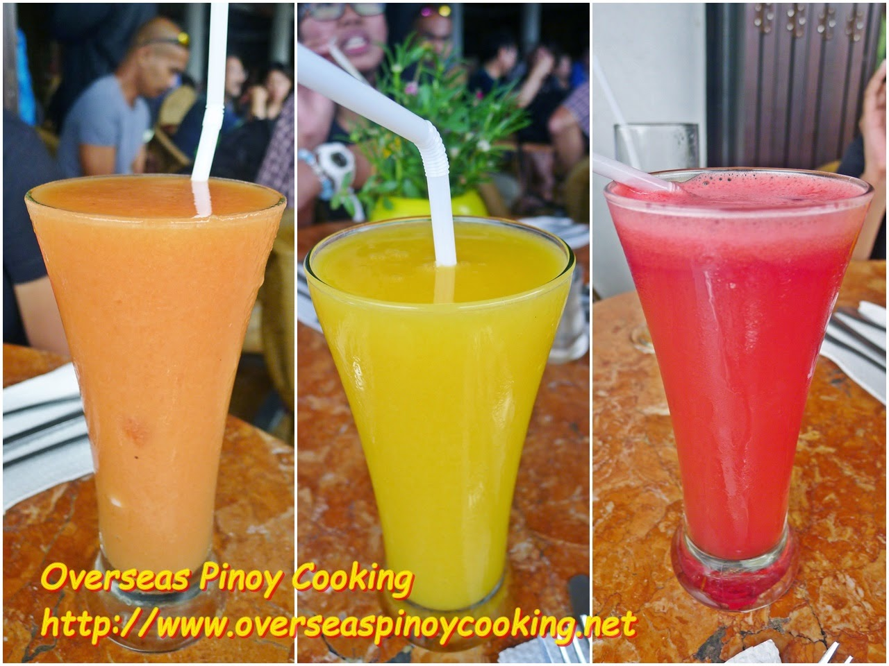 El Nido Art Cafe - Fruit Juices