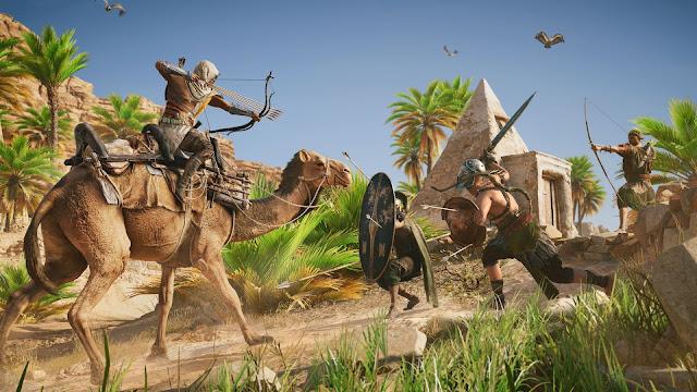 Así es el combate en Assassin's Creed Origins