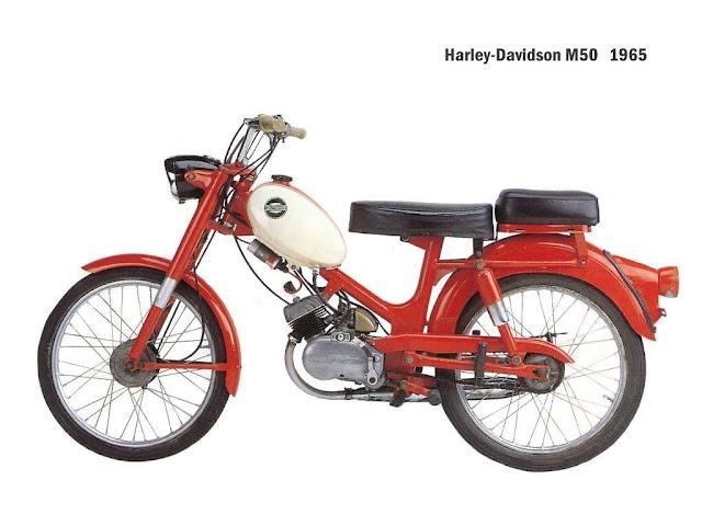 Xe cổ Harley Davidson Aermacchi M50 và M50 Sport