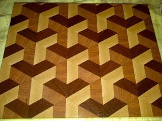 elemente 3D parchet lemn