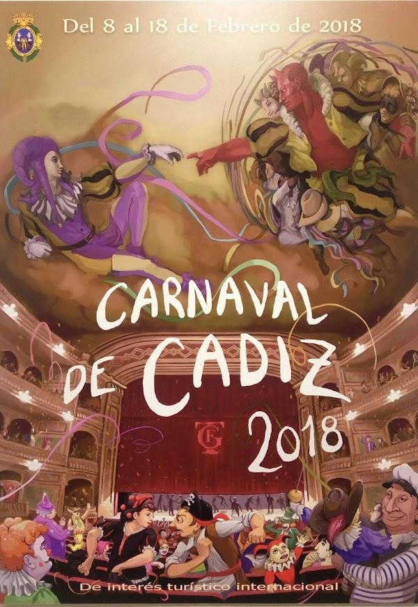 Descargue los audios de las comparsas y Chirigotas COAC 2018