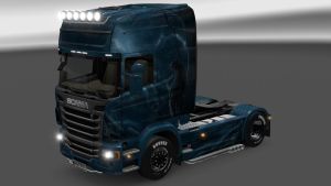 Blue Wolf skin for Scania R