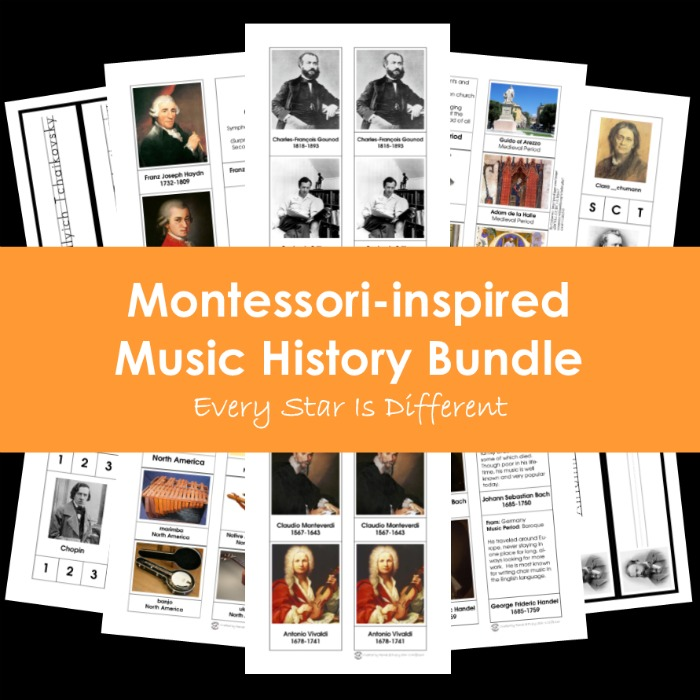 Montessori-inspired Music History Bundle