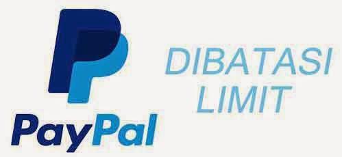 Mengatasi Akun PayPal Dibatasi Limit