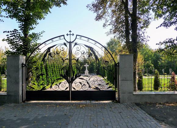 Киев. Китаево. Свято-Троицкий монастырь. Кладбище для священнослужителей