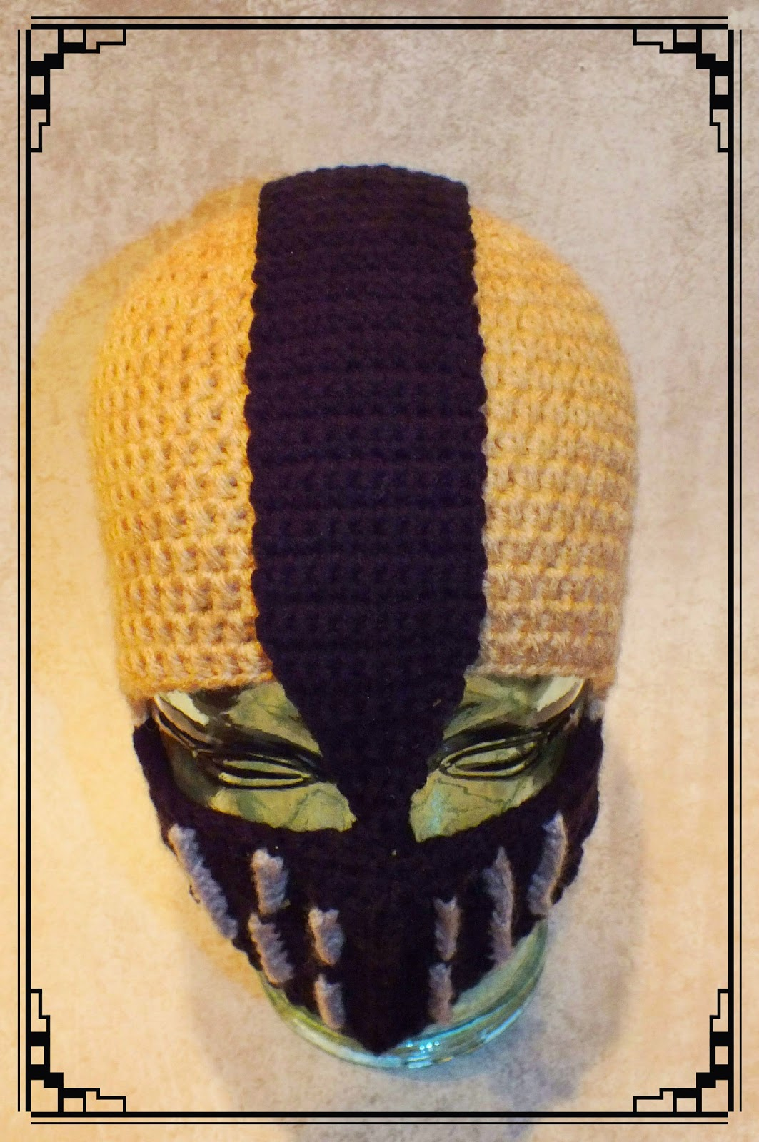 Connies Spot Crocheting Crafting Creating Bane Inspired