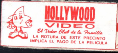 Sticker de Hollywood Video