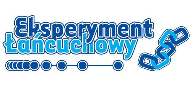 Logo konkursu Eksperyment Łańcuchowy