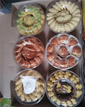 Jual Cake Lebaran 1 Paket Isi 6