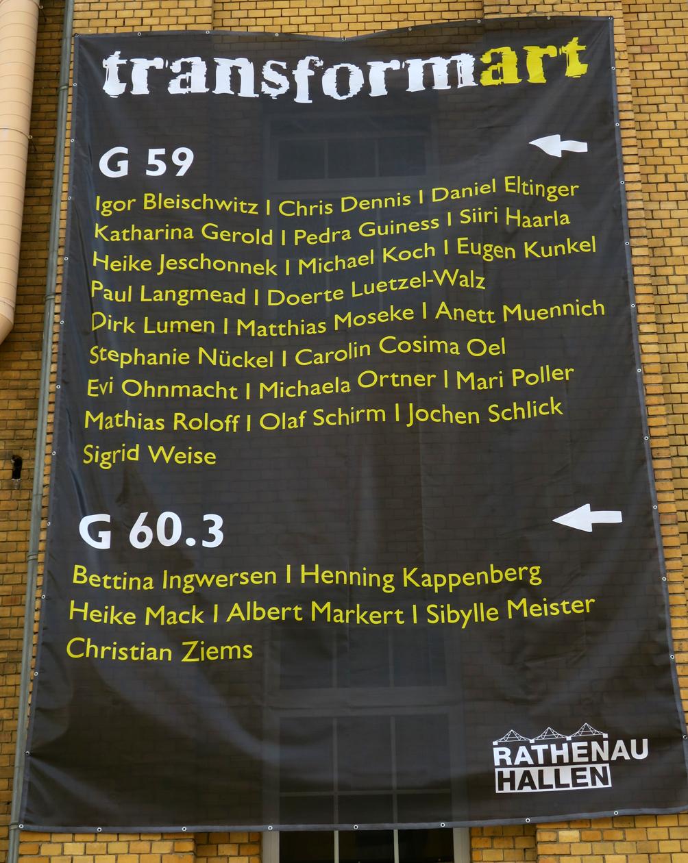 Elegant Meister Koch Dekoration Von Transformart, Berlin Part 3 Of 3.