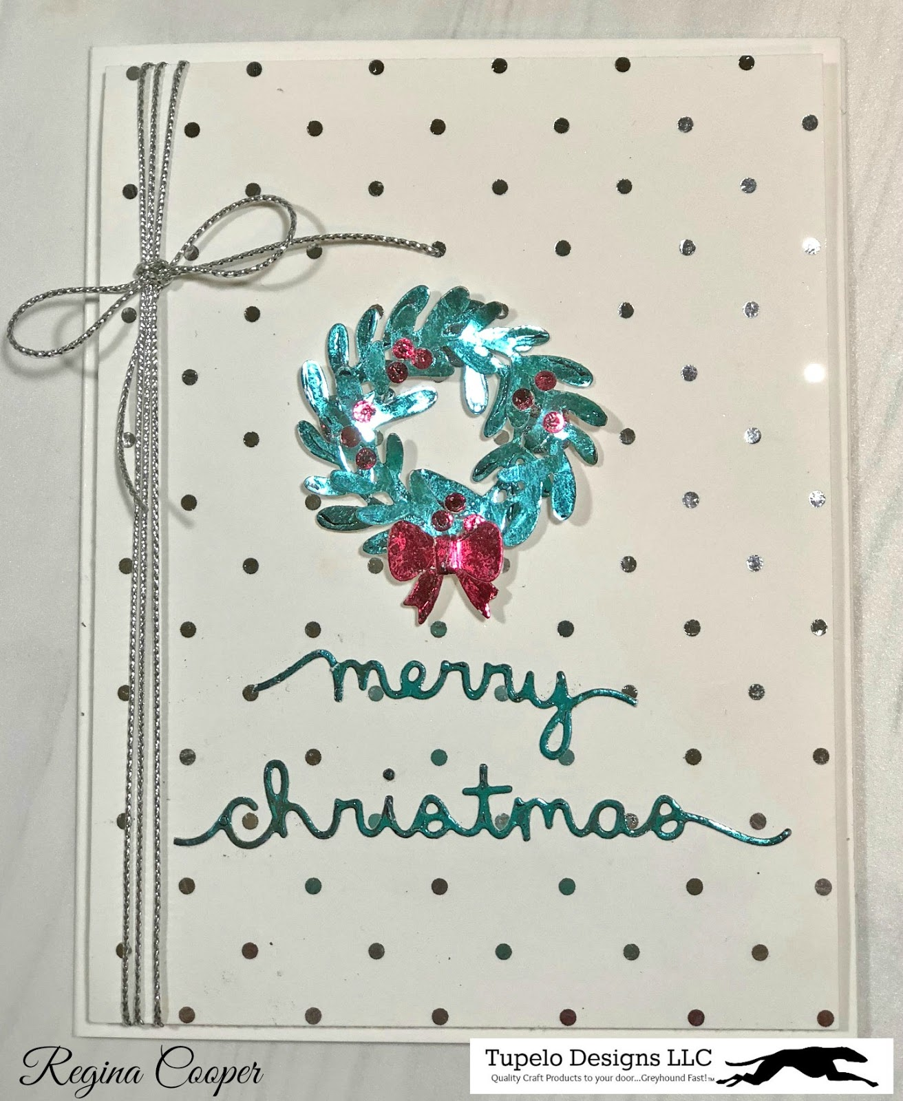 Cards By Regina: Merry Christmas Non-Traditional Foil Colors ...
