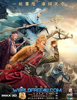 The Monkey King 2 (2016) Worldfree4u - Full Movie Free Download 720P BRRip Dual Audio [Hindi(Cam)-Chinese]