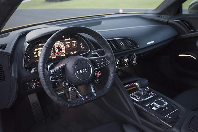 Audi R8 V10 Plus 2018 - interior