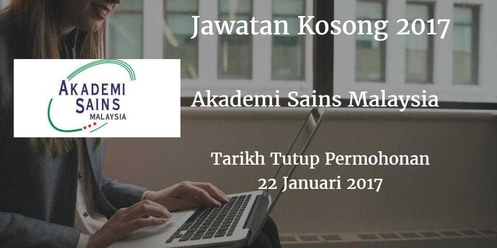 Jawatan Kosong ASM 22 Januari 2017
