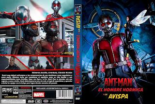 CARATULAAnt-Man and the Wasp - ANT-MAN Y LA AVISPA 2018